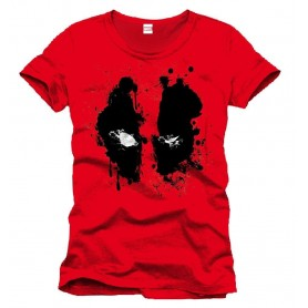 Deadpool T-Shirt Splash Head