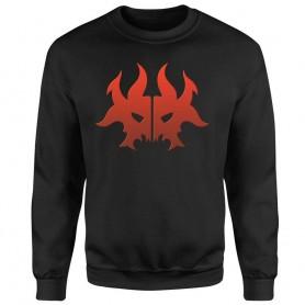 Magic the Gathering sweater Rakdos Symbol