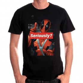Marvel Comics - T-shirt Deadpool ''Seriously ?''