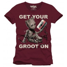 Les Gardiens de la Galaxie 2 T-Shirt Get Your Groot On