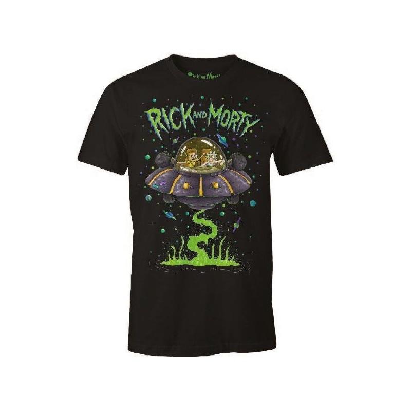 Rick et Morty T-Shirt Space Cruiser