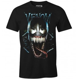 T-SHIRT VENOM MARVEL - DARK VENOM