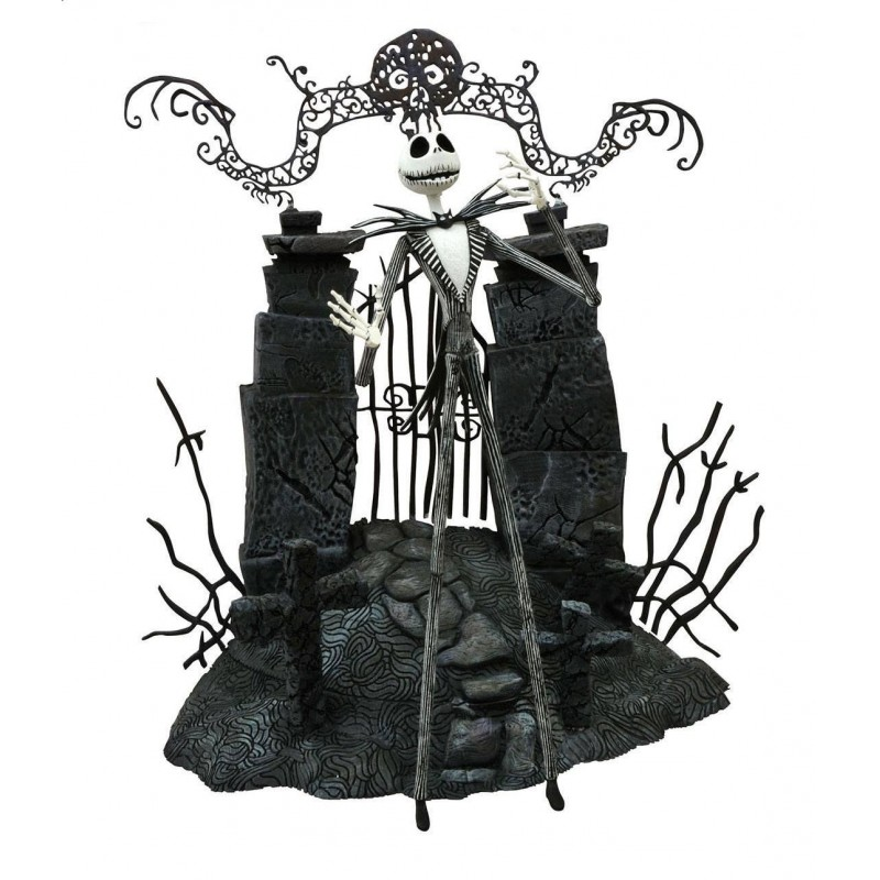 L'Étrange Noël de monsieur Jack - figurine Jack Skellington 18 cm