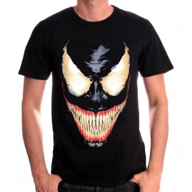 T-Shirt Black - Venom Smile