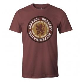 T-Shirt Unisex Harry Potter - Courage Gryffindor