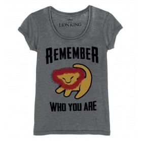 "T-Shirt Femme - Le Roi Lion ""Remember Who You Are"""