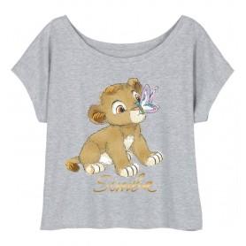 "T-Shirt Femme - Le Roi Lion ""Simba"""