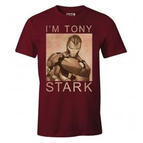 "T-Shirt Unisex - Marvel ""I'm Tony Stark"""