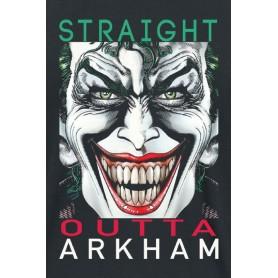 "DC Comics - T-Shirt Unisex - ""Straight Outta Arkham"""