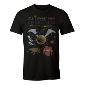 "Harry Potter - T-Shirt Unisex - ""All I want for Christmas"""