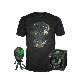 "Alien - Funko POP! Tees - Figurine & T-Shirt ""Xenomorph"""