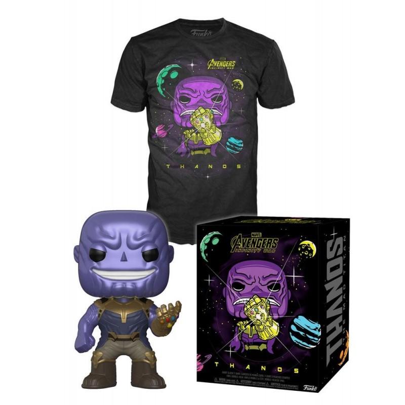 "Marvel - Funko POP! Tees - Figurine & T-Shirt ""Thanos"""