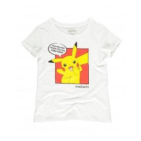 Pokémon -  t-shirt femme - Pikachu - Pika Pika