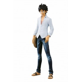 One Piece figurine Jeans Freak The Last World Monkey D. Luffy 20 cm