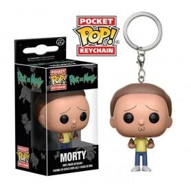 Rick et Morty porte clés Pocket POP! Vinyl Morty 4 cm