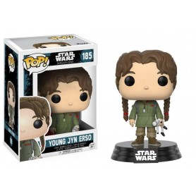 Star Wars Rogue One POP! 185 Vinyl Bobble Head Young Jyn Erso 9 cm