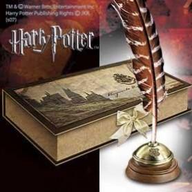 Harry Potter plume et encrier Hogwarts (Poudlard)