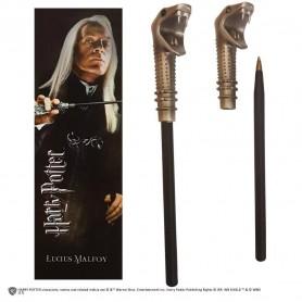 Harry Potter set stylo à bille et marque-page Lucius Malfoy
