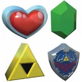 Legend of Zelda balle anti-stress 3D 8 cm