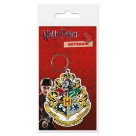Harry Potter porte-clés caoutchouc Hogwart's Crest 6 cm