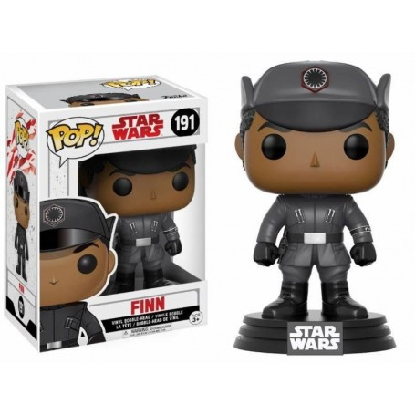 Star Wars Episode VIII POP! 191 Vinyl Bobble Head Finn 9 cm