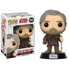 Star Wars Episode VIII POP! 193 Vinyl Bobble Head Luke Skywalker 9 cm