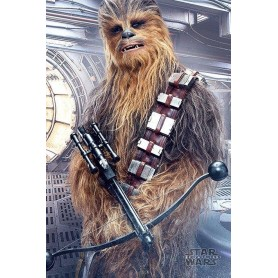 Star Wars Episode VIII pack posters Chewbacca Bowcaster 61 x 91 cm (5)