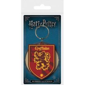 Harry Potter porte-clés caoutchouc Gryffindor 6 cm