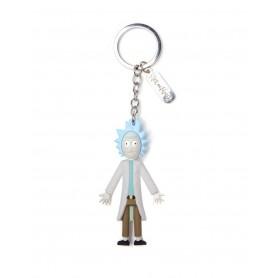 Rick & Morty porte-clés caoutchouc Rick 7 cm