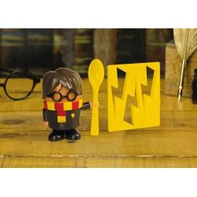 Harry Potter coquetier et emporte-pièces