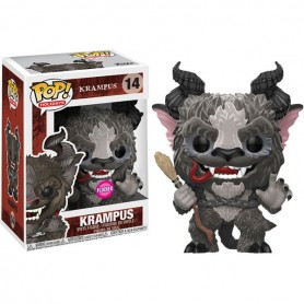 Krampus POP! 14 Holidays Krampus 9 cm *FLOCKED*