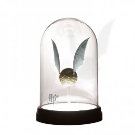 Harry Potter - lampe Vif d'Or sous cloche 20 cm