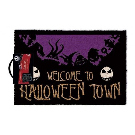 L´étrange Noël de Mr. Jack paillasson Halloween Town 40 x 60 cm