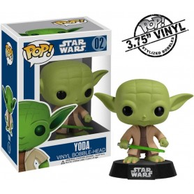 Star Wars POP! Vinyl Bobble Head Yoda 10 cm
