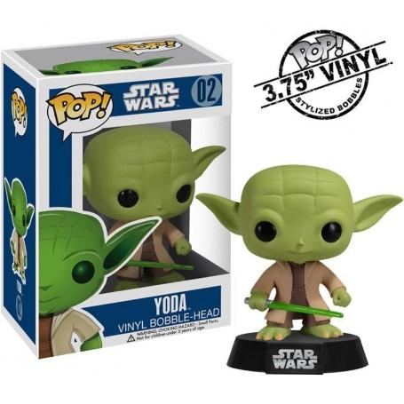Star Wars POP! Vinyl Bobble Head Yoda 10 cm