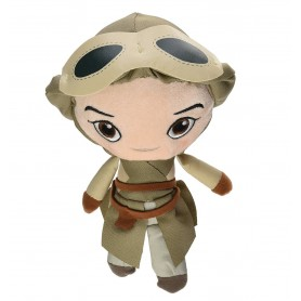 Star Wars Episode VIII - Galactic Plushies - Peluche Goggles Rey 17 cm