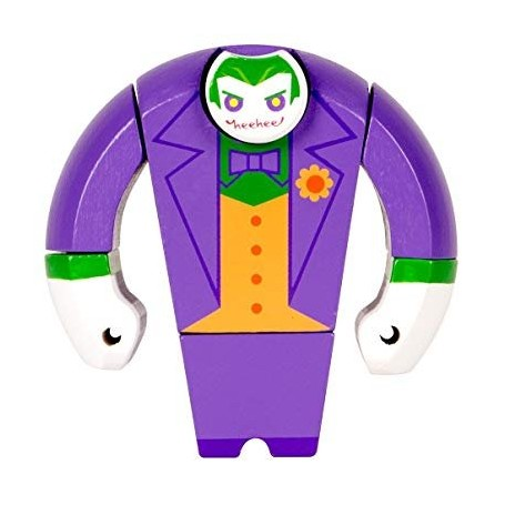 DC Comics - DC-figs - figurine en bois Joker 10 cm