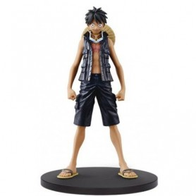 One Piece  - figurine Gold DXF Grandline Luffy Ussop 16 cm