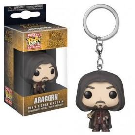 Le Seigneur des Anneaux porte-clés Pocket POP! Vinyl Aragorn 4 cm