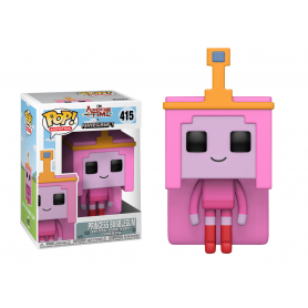 Adventure Time - Minecraft Figurine POP! Television Vinyl Princess Bubblegume 9 cm