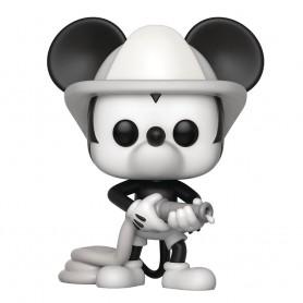 Mickey Maus 90th Anniversary Figurine POP! Disney Vinyl Firefighter Mickey 9 cm