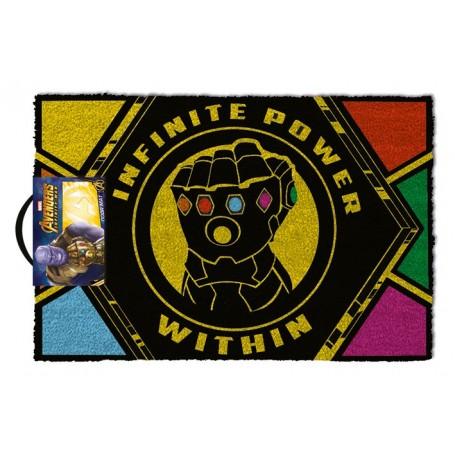 Avengers Infinity War paillasson Infinite Power Within 40 x 60 cm