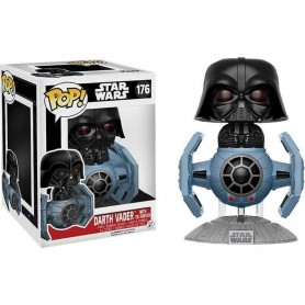 Star Wars POP! Vinyl Bobble Head Darth Vader with Tie Fighter 10 cm