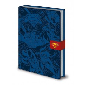DC Comics carnet de notes Premium A5 Superman Montage