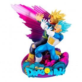 Dragonball Super figurine Super Master Stars Piece Vegeta & Trunks Special Color Version 18 cm