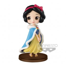 Disney figurine Q Posket Petit Girls Festival Snow White Winter Costume 7 cm