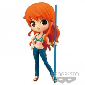 "One Piece - Figurine Q Posket - ""Nami"" (Special Color)"
