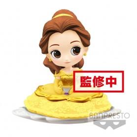 Disney figurine Q Posket SUGIRLY Belle A Normal Color Version 9 cm
