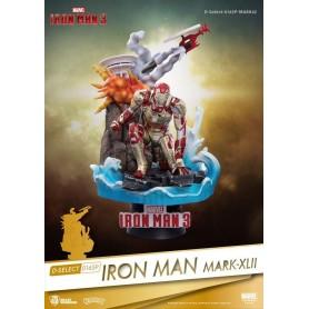"Diorama - Marvel ""Iron Man Mark XLII"" 15cm"