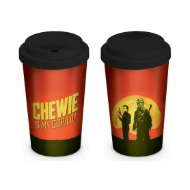 Star Wars Solo mug de voyage Chewie is my Copilot